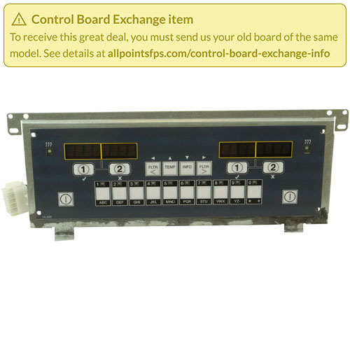 801-3420 - REFURB - CONTROL BOARD TAB BOARD - SINGLE-LANE