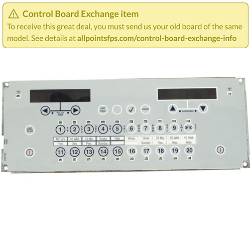 801-3428 - REFURB - CONTROL BOARD TAB BOARD - SINGLE-LANE