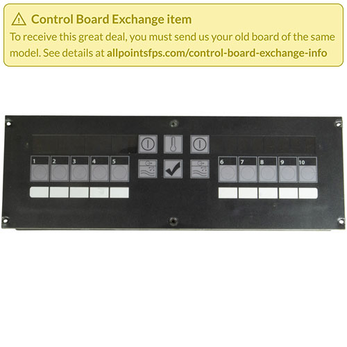 801-3470 - REFURB - CONTROL BOARD FLAT BEZEL - SINGLE-LANE