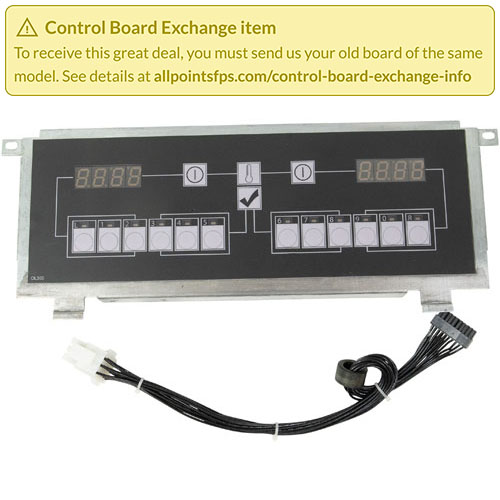 801-3474 - REFURB - CONTROL BOARD FLAT BEZEL - SINGLE-LANE