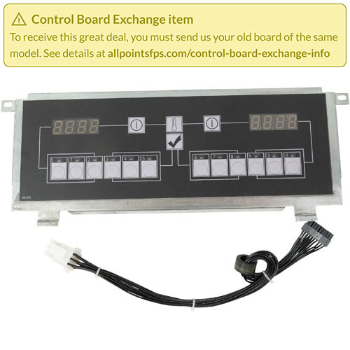 801-3476 - REFURB - CONTROL BOARD FLAT BEZEL - SINGLE-LANE