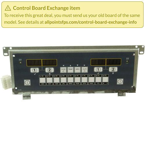 801-3484 - REFURB - m3000 CONTROL TAB BOARD - SINGLE-LANE