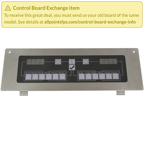 801-3498 - REFURB - CONTROL BOARD SLOT FLAT BEZEL - 1-LANE