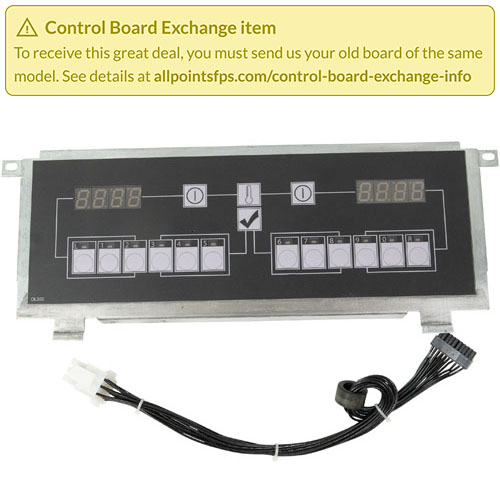 801-3500 - REFURB - CONTROL BOARD SLOT FLAT BEZEL - 1-LANE