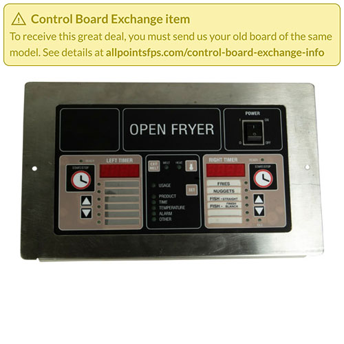 801-3516 - REFURB - CONTROL BOARD PANEL MOUNT