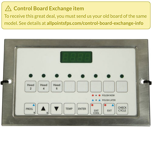801-3554 - REFURB - CONTROL BOARD PANEL MOUNT S/S