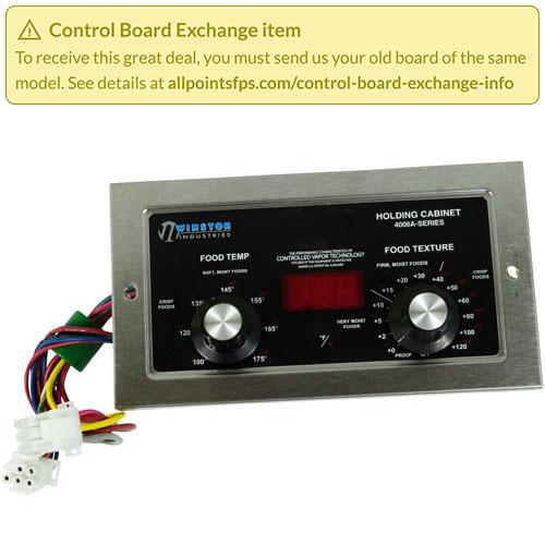 801-3610 - REFURB - CONTROL BOARD CVAP, RED
