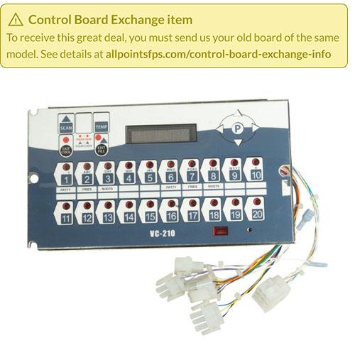 801-3612 - REFURB - VC-210 CONTROL, DUAL VAT FRYER