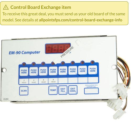 801-3650 - REFURB - EM-90 CONTROL, PRESSURE FRYER