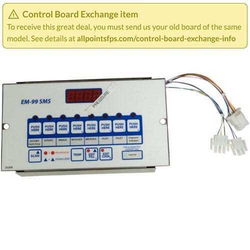 801-3654 - REFURB - EM-99 CONTROL, PRESSURE FRYER
