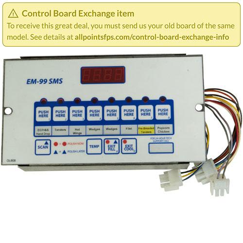 801-3656 - REFURB - EM-99 CONTROL, DUAL VAT