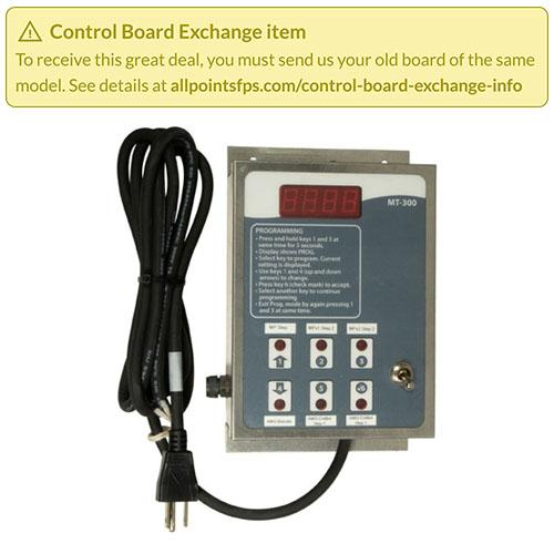 801-3690 - REFURB - CONTROL BOARD, MT-300 MIXER TIMER