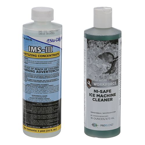 801-4448 - CLEANER & DESCALER PACK, ICE MACHINE