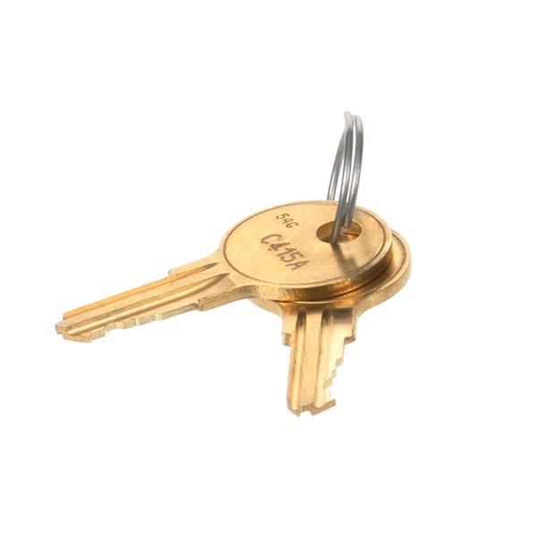 NOR-LAKE - 054993 - KEYS # C415A FORT LOCK