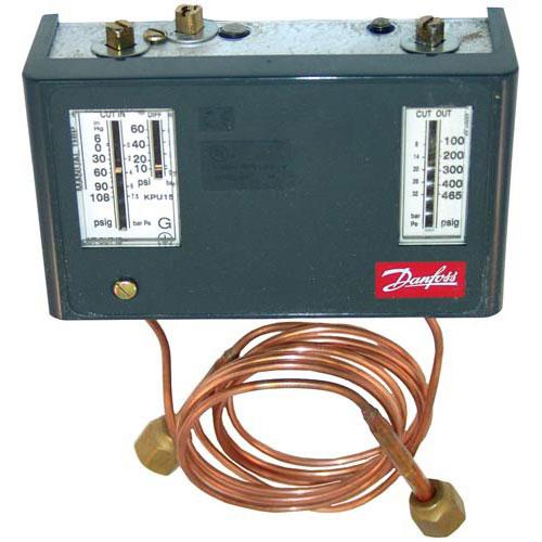 "DANFOSS - 060-524800 - DUAL PRESSURE CONTROL AUTO-AUTO/36"" CAP"