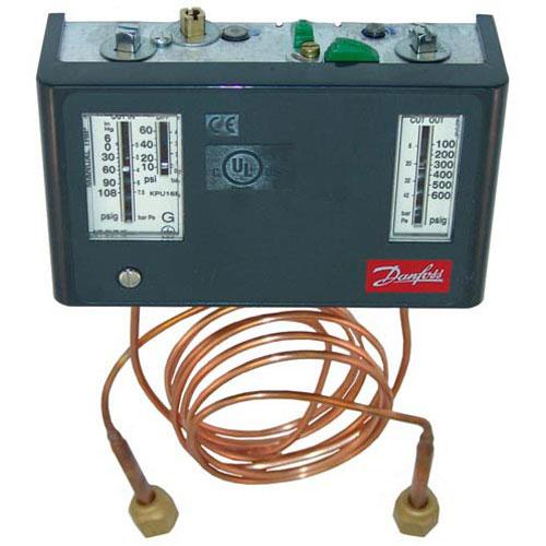 "DANFOSS - 060-525400 - DUAL PRESSURE CONTROL MAN-CONV/36""CAP"