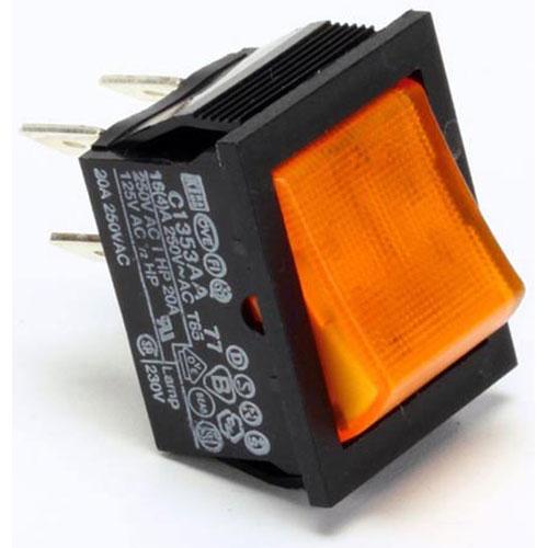 APW - 48940600 - 16A ROCKER SWITCH DPST LIGHTER