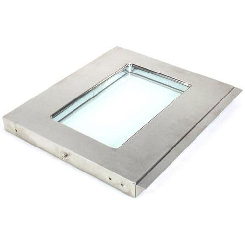 BAKERS PRIDE - E6827A - LEFT DOOR W/GLASS ASSY