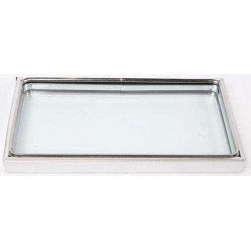 BAKERS PRIDE - S1020X - 1-9/16 DOOR WINDOW ASSY