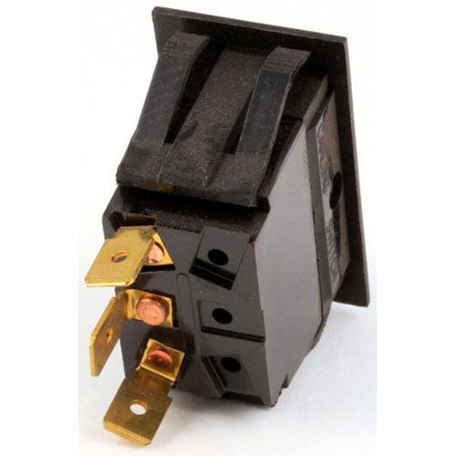 BLODGETT - 30518 - ROCKER SPDT SWITCH MATT BLACK