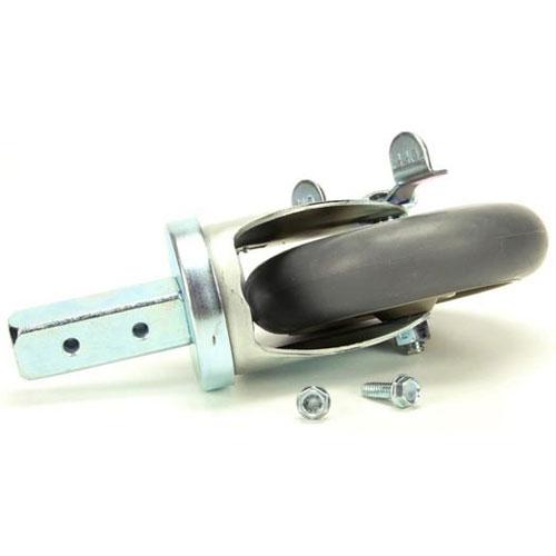 CRESCOR - 0569-311-BK - 5 STEM W/BRAKEE CASTER