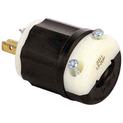 CRES COR - 0840-036 - 125V TWISTLOCK PLUG 20A