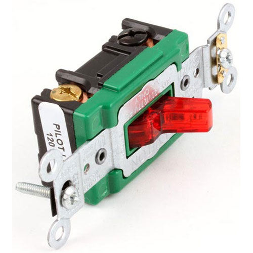 DUKE - 212792 - 30 AMP RED TOGGLE SWITCH