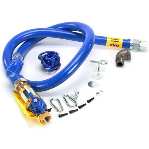 NIECO - 12744 - 3/4INX 5FT GAS LINE W/CIMFAST, SWI