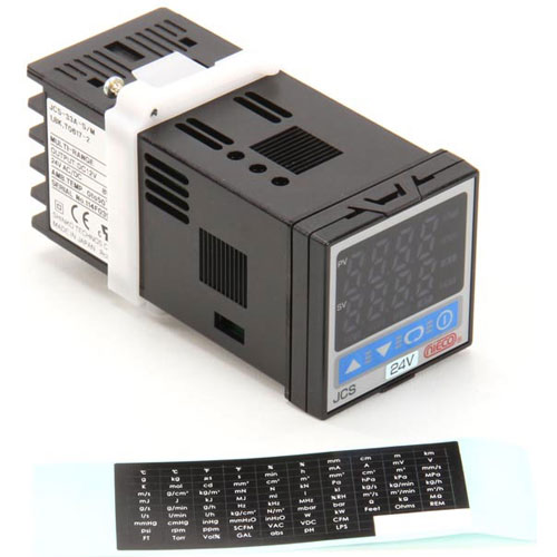 NIECO - 16035 - 24VAC TEMP  CONTROL DUAL DISP