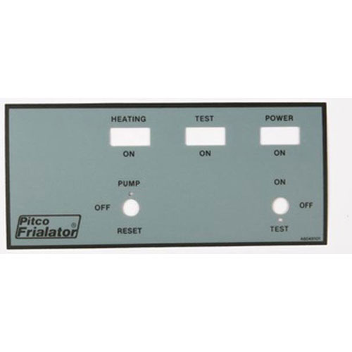 PITCO - A6049101 - OVRLY FR PNL RH LABEL E147UFM