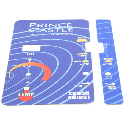 PRINCE CASTLE - 197-475S - OVERLAY KIT