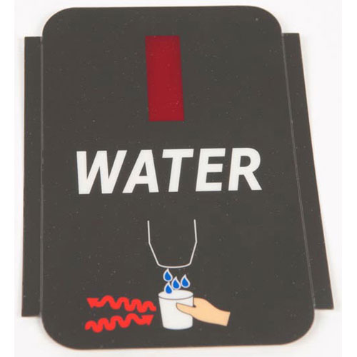 SCOTSMAN - 17-2830-02 - LABEL - WATER