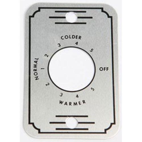 SILVER KING - 20653P - PLATE CONTROL TEMP
