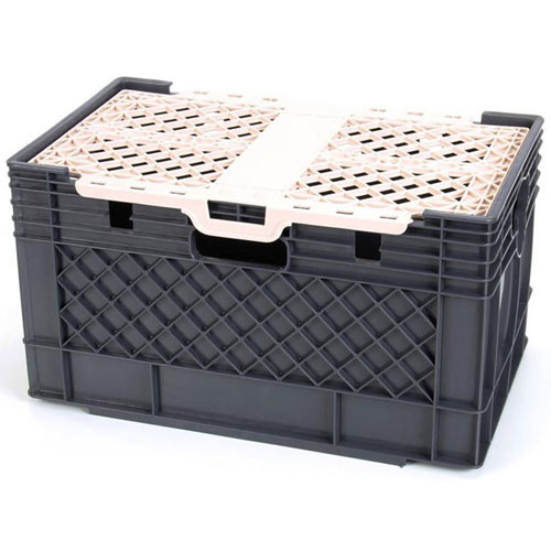 SILVER KING - 25791 - CRATE MILK W/LID BOXED