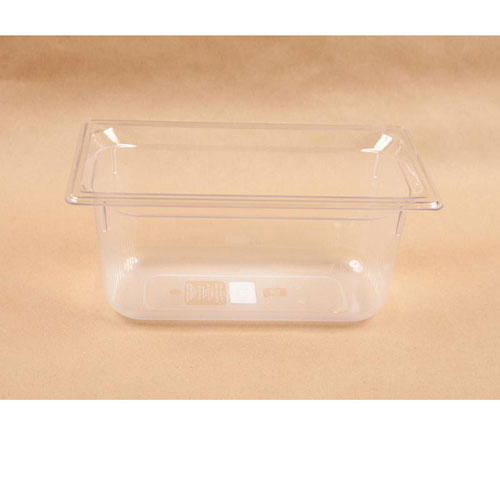 SILVER KING - 26415 - 1/3 SIZE PLASTIC PAN 6IN DEEP