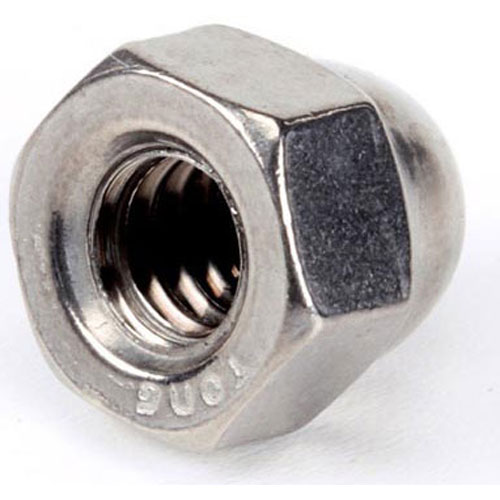 SILVER KING - 28777P - 1/4-20 ACORN LOCKING NUT SS