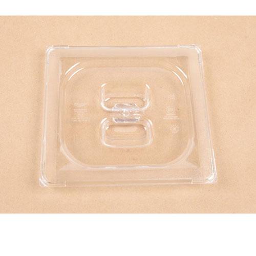 SILVER KING - 35276 - 1/6 SIZE PLSTIC PAN CVR CLEAR