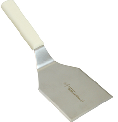 137-1367 - CHICKEN SPATULA WHITE PL. HAND