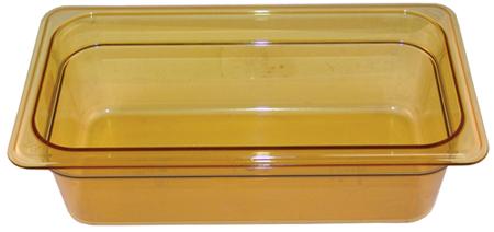 78-934 - HOT PAN 1/3 X 4-150 AMBER