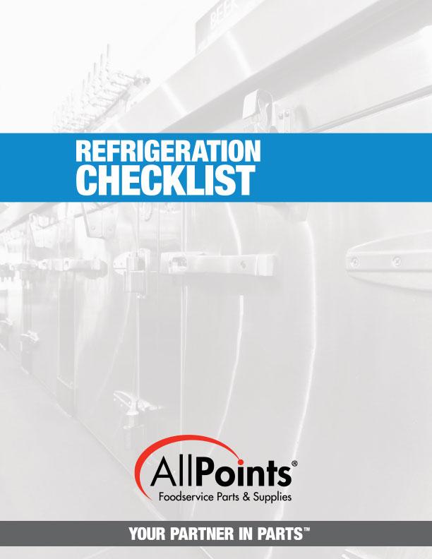 Refrigeration Checklist