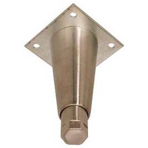 """LEG(6""""H,NCKL PLT ZNC,3.5"""" PLT) FMP 119-1075 Replacement Parts Franklin"""