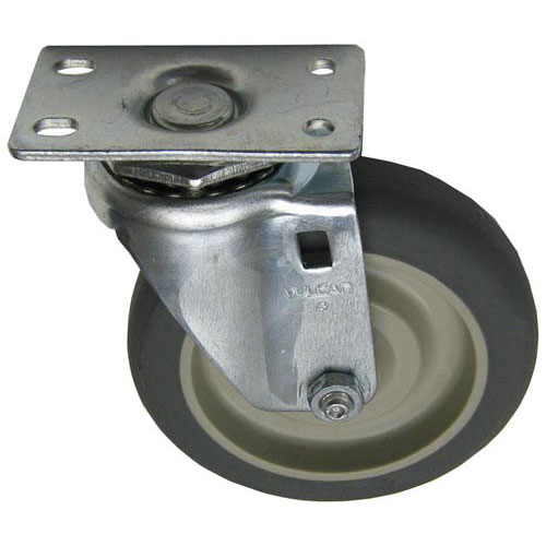 """CASTER,PLATE (4""""OD,SWVL,GRAY)  FMP 120-1048 Replacement Parts Franklin"""