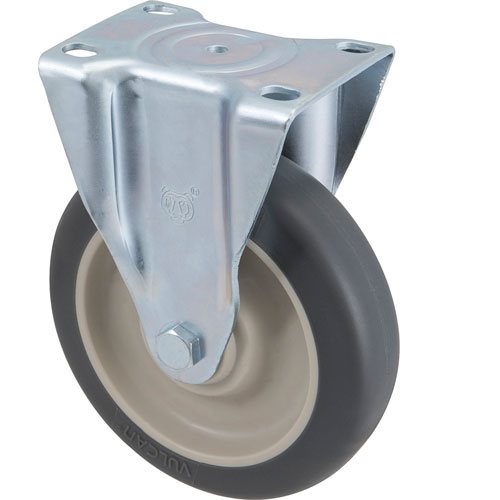 "CASTER,PLATE (5""OD,RIGID,GRAY) FMP 120-1114 Replacement Parts Franklin"