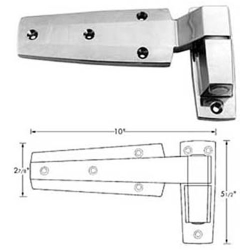 """HINGE, CAM (2"""" OFST) FMP 123-1151 Replacement Parts Franklin"""