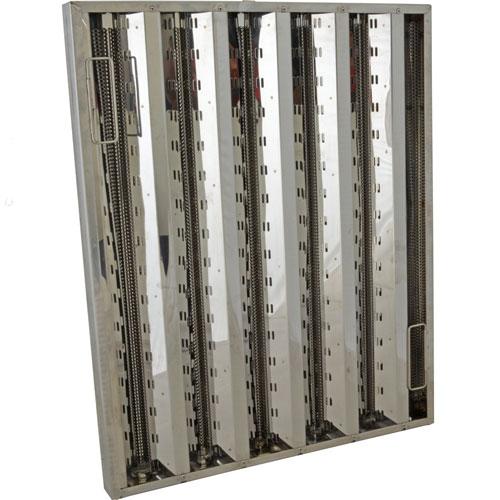 Equipment Parts FILTER,BAFFLE(25X20,SS,HE,FMP) FMP 129-1235 Franklin