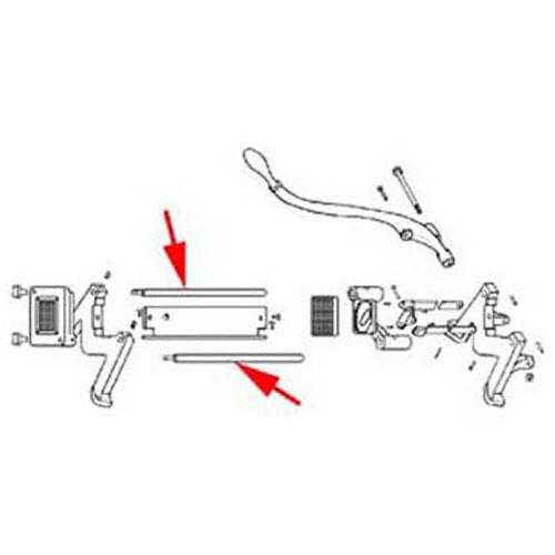 ROD,SLIDE FMP 188-1018 Replacement Parts Franklin