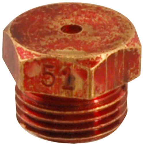 Equipment Parts ORIFICE,UPPER REAR(#51,LP) FMP 197-1156 Franklin