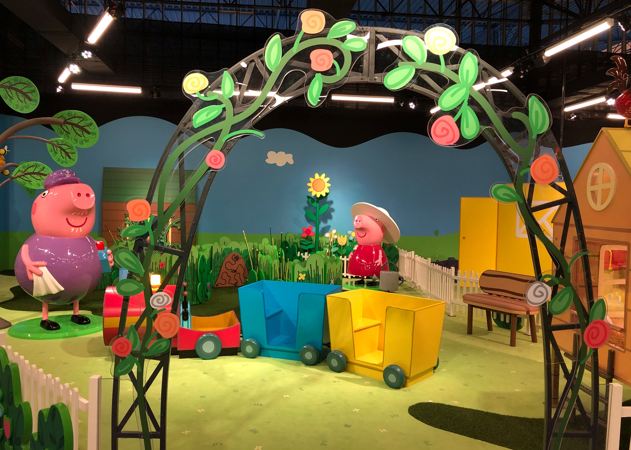 Your Family S Guide To Peppa Pig World Of Play In Grapevine Dfwchild