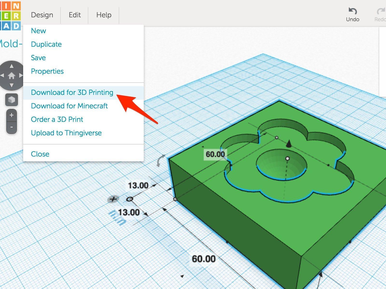 Pt 1 Step 14 - Download for 3D printing