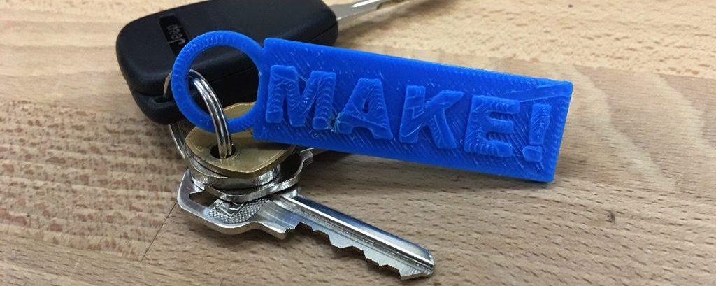 3D Printed Keychain